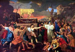 The Adoration of the Golden Calf - Nicolas Poussin