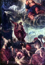 The Water from the Rock - Tintoretto